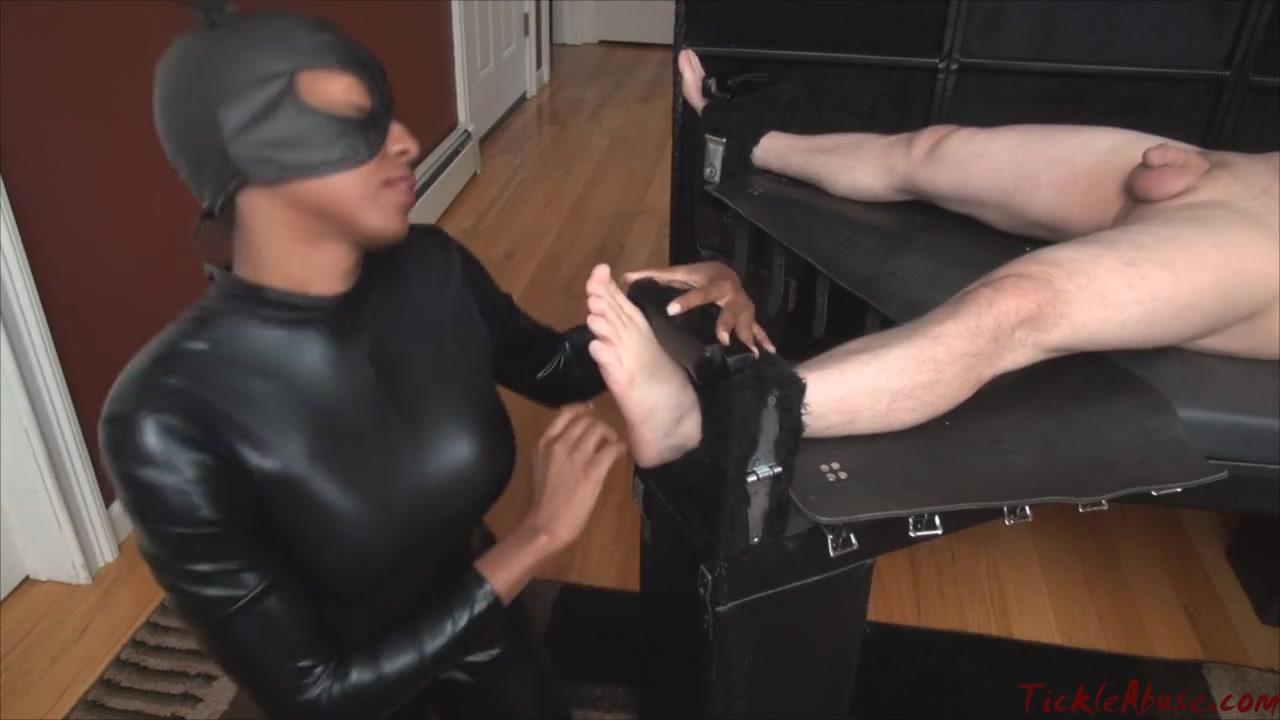 Tickle Abuse - Interrogation and Handjob